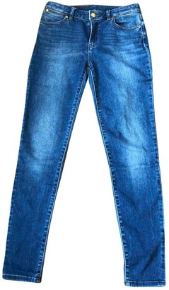 Michael Kors Blue Cotton - elasthane Jeans for Women