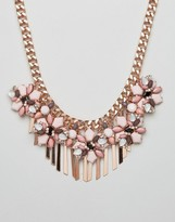 Aldo Metal Chain Embellished Necklace