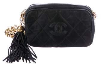 Chanel Satin Camera Bag