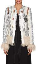 Altuzarra Women's Avenue Embellished Brocade Jacket