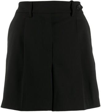 RED Valentino High-Waist Shorts
