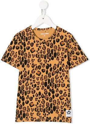 Mini Rodini leopard pattern T-shirt