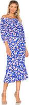 Saloni Grace Dress in Blue. - size 2 (also in )