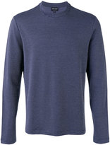 Giorgio Armani Fantasia patterned sweater - men - Cotton/Spandex/Elastane/Viscose - 46
