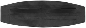 Tie Bar Cummerbund Black Belt
