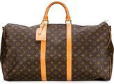 Louis Vuitton Vintage logo weekender bag