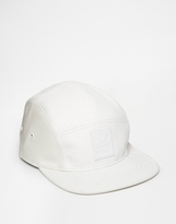Adidas Originals 5 Panel Cap In Snake Ac0510 - White