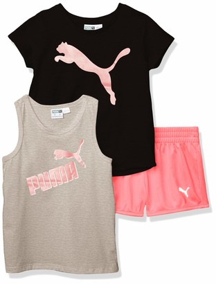 Puma Baby Girls' Tee and Short Set