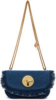 See by Chloe Blue Denim Lois Bag