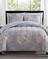 Pem America Geo Floral 2-Pc. Reversible Twin/Twin XL Comforter Set