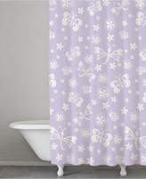 Kassatex Kassa Kids Cotton Butterfly Shower Curtain Bedding