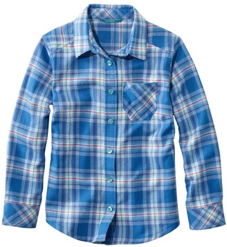 L.L. Bean Girls' Flannel Shirt, Plaid