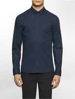 Calvin Klein Platinum Skinny Fit Stretch Poplin Shirt
