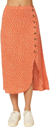 O'Neill Dolina Dot Button Skirt