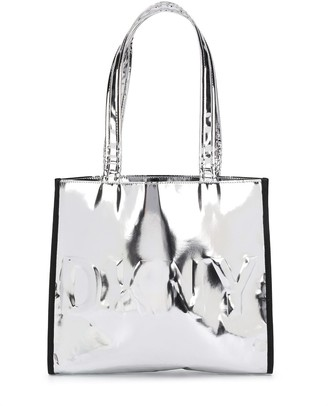 DKNY Metallic Embossed Shoulder Bag