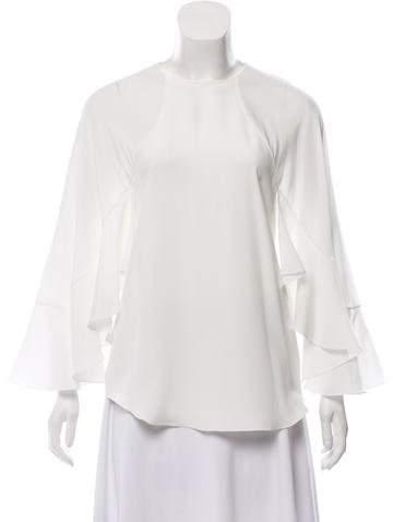 Chloé Silk Long Sleeve Blouse w/ Tags