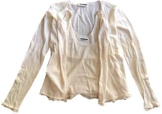 Jil Sander White Linen Knitwear for Women