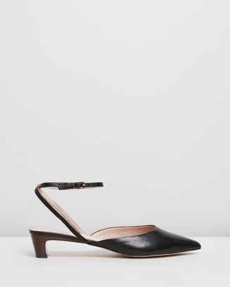 Atmos & Here Annie Leather Heels