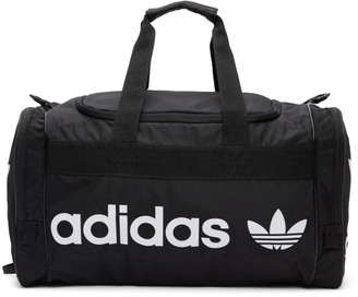 adidas Black and White Santiago 2 Duffle Bag