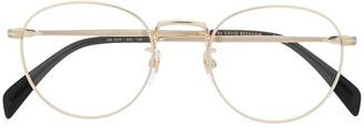 David Beckham Eyewear round frame glasses