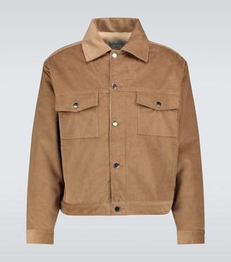 Éditions M.R Versailles biker jacket