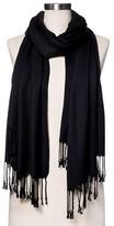 Merona Fashion Scarves Solid Black