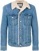Lanvin lamb fur lined jacket