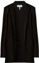 Loewe Raw-edged satin jacket