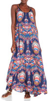 Red Carter Dreamcatcher Maxi Dress