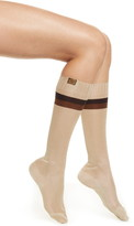 Fendi Ribbed Knee High Socks