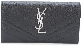 Saint Laurent large Monogram quilted wallet