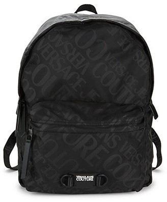 Versace Jeans Couture Logo-Print Backpack
