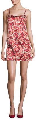 For Love & Lemons Melanie Floral Slip Dress