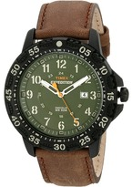 Timex Expedition Rugged Resin Dial Leather Strap Watch