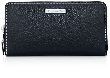 Tiffany & Co. Zip continental wallet