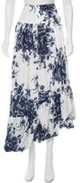 Sonia Rykiel Printed Maxi Skirt w/ Tags