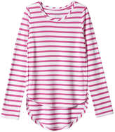 Joe Fresh Kid Girls' High-Low Top, Pink (Size XL)