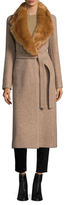 Helmut Lang Surplice Wool Coat