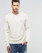 Original Penguin Cotton Crew Neck Jumper