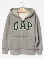 Gap Logo baseball zip hoodie