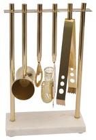 Threshold Marble & Gold Barware Tool Set