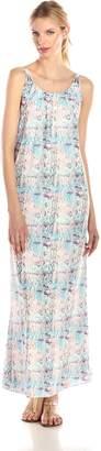 Lovers + Friends Lovers+Friends Women's Golden Light Printed Maxi Dress