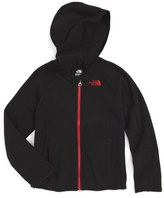 The North Face 'Glacier' Full Zip Hoodie (Toddler Boys & Little Boys)