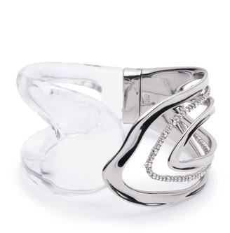 Alexis Bittar Orbiting Hinge Bracelet, Clear