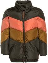 Scotch R'Belle PANELED METALLIC Winter jacket oliv