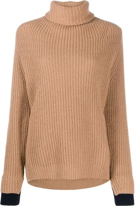Zadig & Voltaire Chunky Knit Roll-Neck Jumper