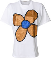 Christopher Kane - glitter flower T-s