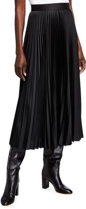 Escada Rokit Pleated Midi Skirt