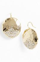 'Sand Dollar' Drop Earrings