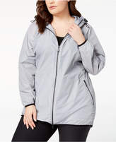 Calvin Klein Plus Size Hooded Walker Jacket